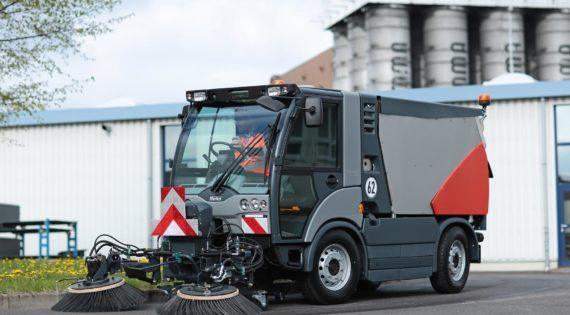 Αυτοκινούμενο σάρωθρο Hako Citymaster 2200